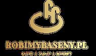 ROBIMYBASENY – Baseny, Tarasy , Zbiorniki, Baseny ogrodowe. Produkcja basenów ogrodowych oraz wewnętrznych. Budowa tarasów. Zbiorniki PP Logo